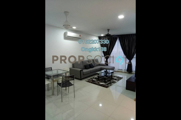 For Rent Condominium at KL Gateway, Bangsar South Leasehold Fully Furnished 2R/0B 3.4k