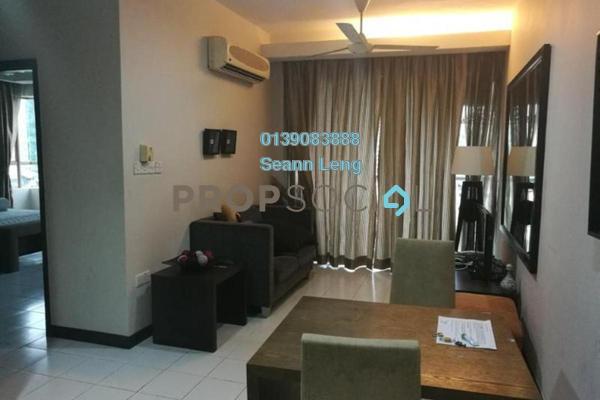 For Rent Condominium at Ritze Perdana 1, Damansara Perdana Leasehold Fully Furnished 0R/0B 1.5k