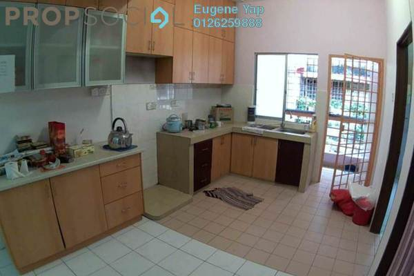 For Sale Townhouse at Taman Wangsa Permai, Kepong Leasehold Semi Furnished 3R/2B 380k