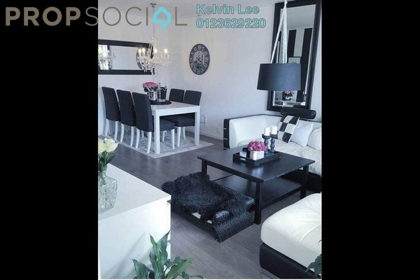 For Rent Condominium at 288 Residences, Kuchai Lama Freehold Fully Furnished 3R/2B 2.1k