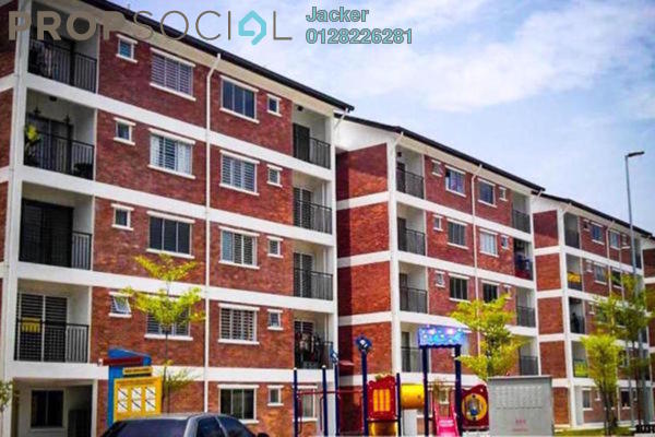 For Rent Apartment at Puri Pesona Apartment, Bandar Sungai Long Leasehold Unfurnished 3R/2B 800translationmissing:en.pricing.unit