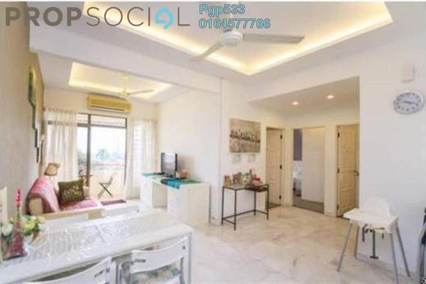 For Rent Apartment at Jermal Jaya, Pulau Tikus Freehold Fully Furnished 3R/2B 1.6k