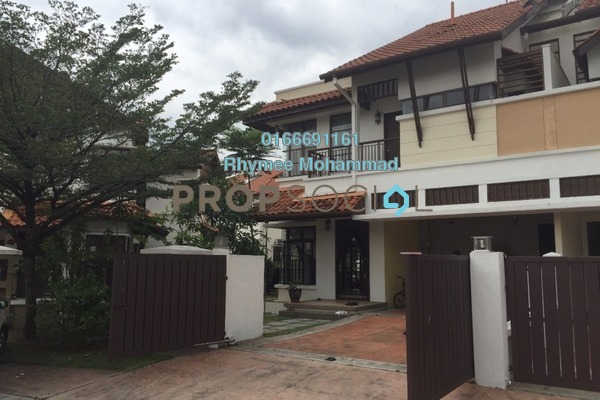 For Rent Semi-Detached at Tinta, Alam Impian Freehold Semi Furnished 6R/6B 2.5k