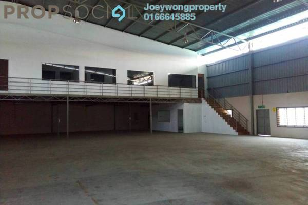 For Rent Factory at Pekan Sungai Buloh, Selangor Freehold Semi Furnished 0R/0B 8k