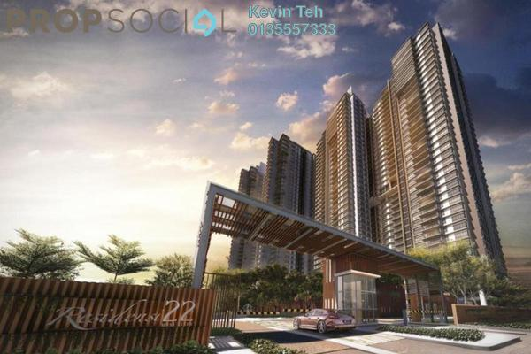 For Sale Condominium at Residensi 22, Mont Kiara Freehold Semi Furnished 3R/4B 1.66m