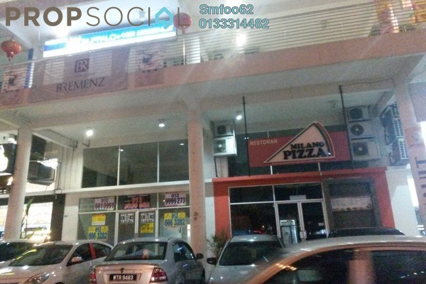For Rent Shop at Platinum Mondrian PV128, Setapak Leasehold Unfurnished 0R/0B 7.8k