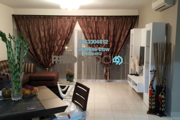 For Rent Condominium at Vista Saujana, Kepong Freehold Semi Furnished 3R/2B 1k