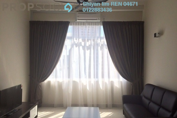 For Rent Condominium at Vue Residences, Titiwangsa Freehold Fully Furnished 3R/2B 2.8k