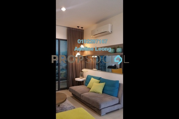 For Sale Condominium at Amerin Mall & Residence, Balakong Freehold Semi Furnished 2R/2B 467k
