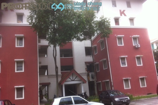For Rent Apartment at Desa Mutiara Apartment, Mutiara Damansara  Semi Furnished 3R/2B 1.1k