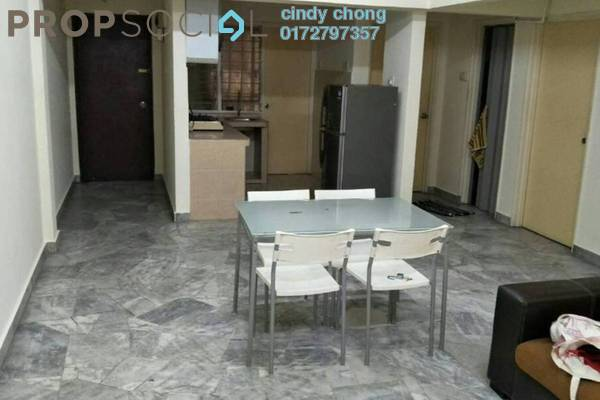 For Rent Apartment at Subang Ville Ehsan, Bandar Sunway Leasehold Semi Furnished 3R/2B 1.15k