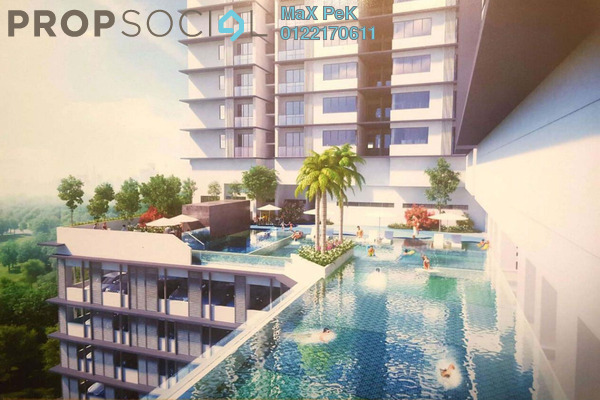 For Sale Condominium at Rica Residence, Sentul Freehold Unfurnished 3R/2B 607k