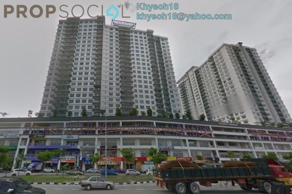 For Sale Condominium at The Golden Triangle, Relau Freehold Semi Furnished 3R/2B 530k