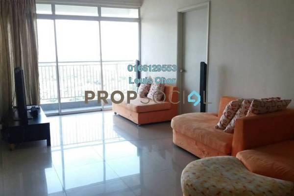 For Rent Condominium at Prima U1, Shah Alam Leasehold Fully Furnished 3R/2B 1.99k