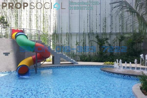 For Sale Serviced Residence at Glomac Damansara, TTDI Freehold Semi Furnished 2R/2B 838k