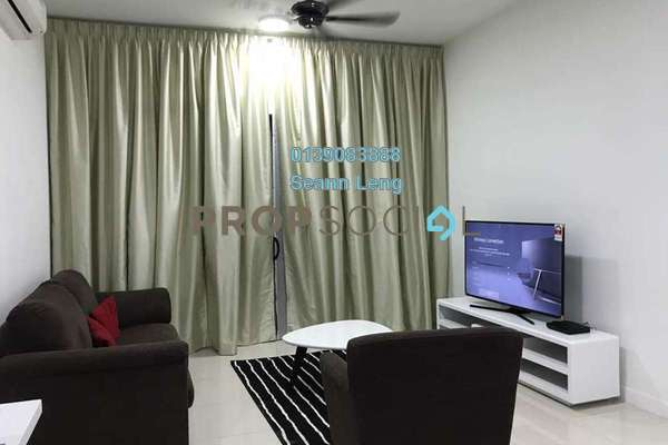 For Rent Serviced Residence at Reflection Residences, Mutiara Damansara Freehold Fully Furnished 3R/2B 3.5k