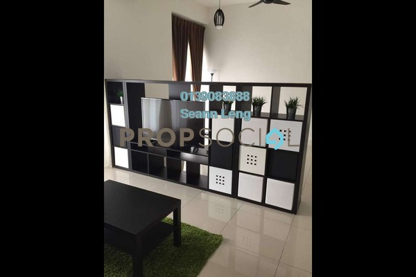 For Rent Serviced Residence at Tropicana Gardens, Kota Damansara Leasehold Fully Furnished 0R/1B 2.3k