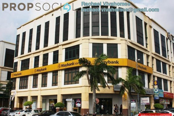 For Rent Office at Taman Puchong Prima, Puchong Freehold Unfurnished 0R/2B 1k