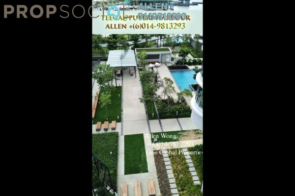 For Rent Serviced Residence at Imperia, Puteri Harbour Freehold Semi Furnished 2R/2B 2.5k