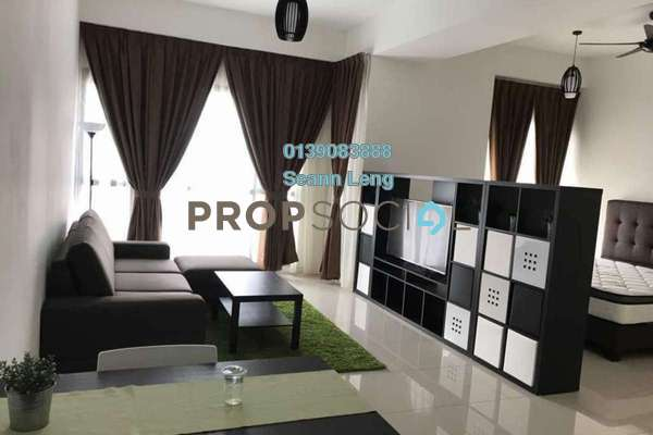 For Rent Serviced Residence at Tropicana Gardens, Kota Damansara Leasehold Fully Furnished 0R/1B 2.25k