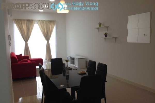 For Rent Condominium at Scenaria, Segambut Freehold Semi Furnished 3R/2B 2.2k
