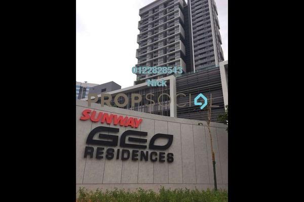 For Sale Condominium at Sunway GEO Residences, Bandar Sunway Leasehold Semi Furnished 2R/2B 790k