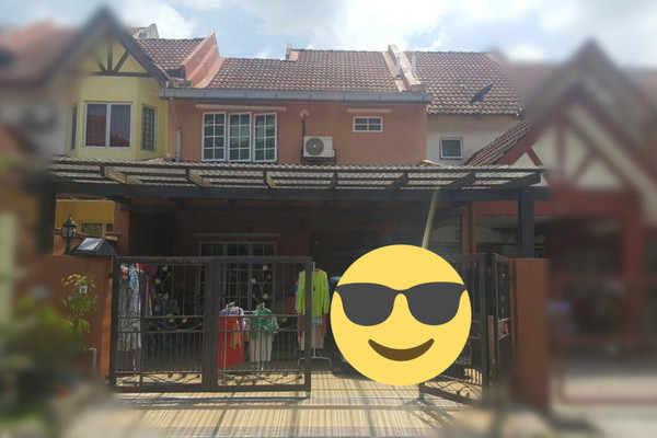 For Sale Terrace at Taman Sri Nanding, Hulu Langat Leasehold Unfurnished 4R/3B 489k