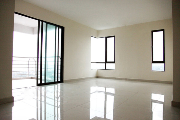 For Rent Condominium at Atmosfera, Bandar Puchong Jaya Freehold Semi Furnished 3R/2B 1.6k