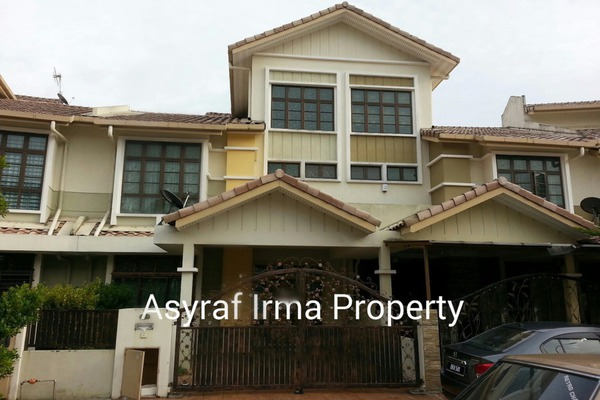 For Rent Terrace at Section 7, Shah Alam Leasehold Semi Furnished 5R/4B 3k
