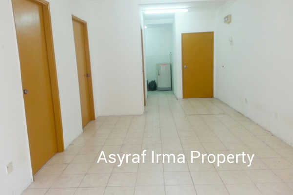 For Rent Apartment at Section 7, Shah Alam Leasehold Unfurnished 3R/2B 1k