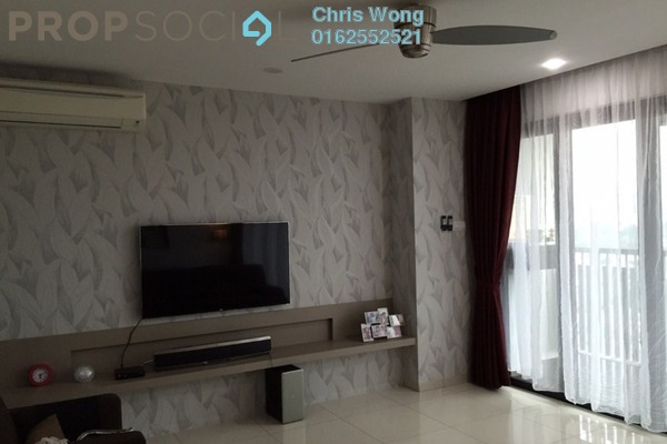 For Sale Condominium at Gembira Residen, Kuchai Lama Freehold Fully Furnished 4R/2B 1m