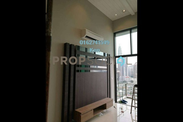For Rent Condominium at Setia Sky Residences, KLCC Freehold Fully Furnished 2R/1B 3.5k