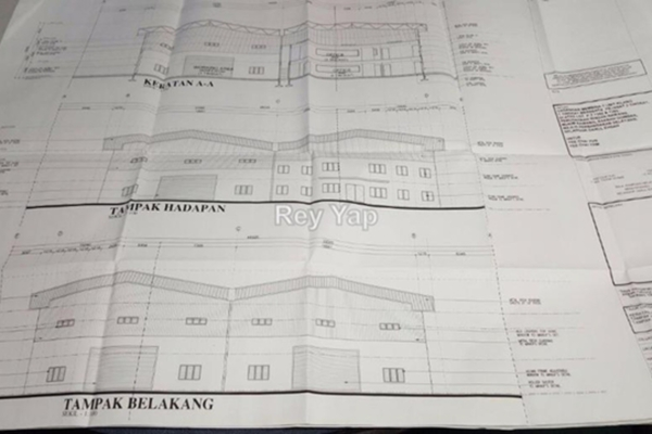 For Rent Factory at Taman Garing Jaya, Rawang Leasehold Unfurnished 0R/0B 15k