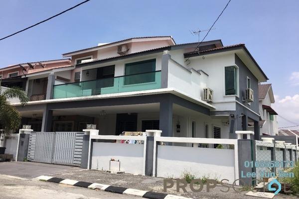 For Sale Terrace at Bandar Seri Botani, Ipoh Leasehold Fully Furnished 4R/4B 650k