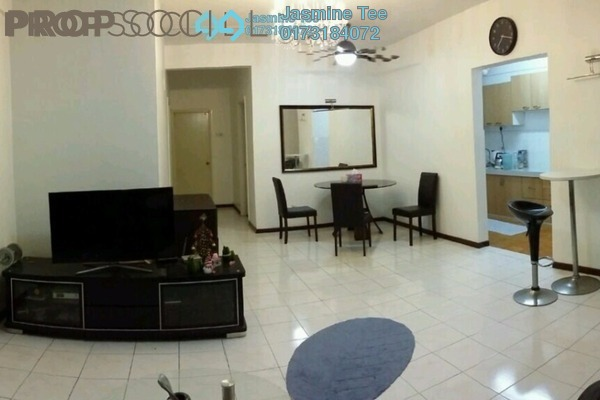 For Rent Condominium at City Garden Palm Villa, Pandan Indah Leasehold Fully Furnished 3R/2B 1.7k