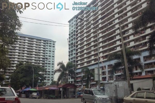 For Rent Apartment at Danau Kota, Setapak Leasehold Unfurnished 3R/1B 800translationmissing:en.pricing.unit