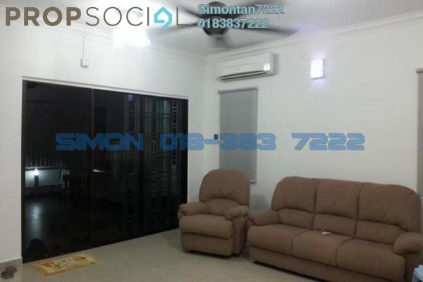 For Rent Terrace at Taman Villa Heights 1, Kajang Freehold Semi Furnished 4R/2B 1.8k