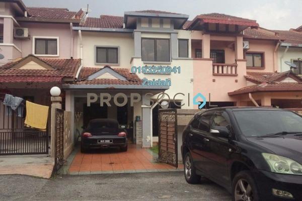 For Sale Terrace at Taman Nusa Subang, Subang Leasehold Semi Furnished 4R/3B 590k
