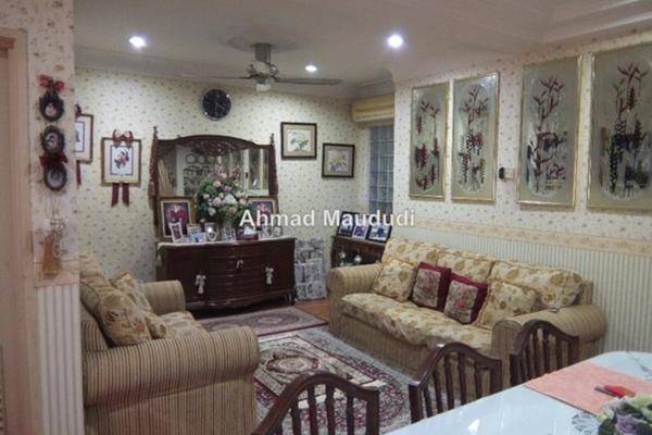 For Sale Terrace at BK5, Bandar Kinrara Freehold Semi Furnished 4R/3B 1.3m