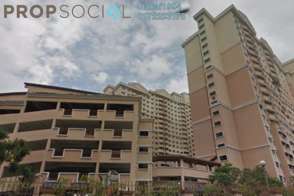 For Rent Condominium at Cengal Condominium, Bandar Sri Permaisuri Leasehold Semi Furnished 3R/2B 1.5k