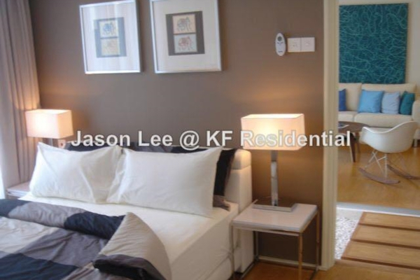 For Sale Condominium at i-Zen Kiara I, Mont Kiara Freehold Semi Furnished 2R/2B 830k