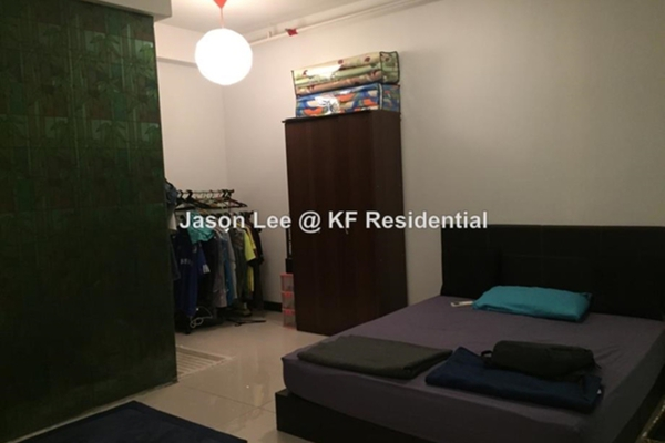 For Sale Condominium at The Scott Soho, Old Klang Road Freehold Semi Furnished 1R/2B 390k