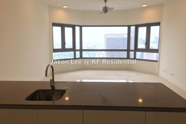 For Rent Condominium at The Sentral Residences, KL Sentral Freehold Semi Furnished 2R/3B 5k