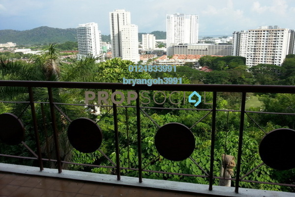 For Rent Apartment at Ayu Heights, Bukit Jambul Freehold Semi Furnished 3R/2B 1.1k
