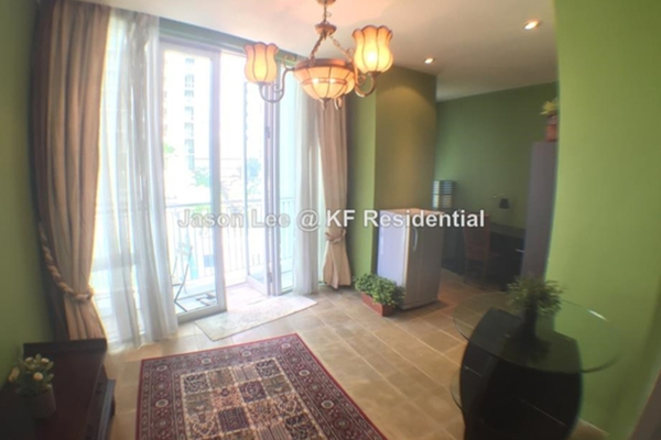 For Rent Condominium at Kirana Residence, KLCC Freehold Fully Furnished 2R/4B 7k