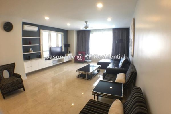 For Rent Condominium at The CapSquare Residences, Dang Wangi Freehold Fully Furnished 3R/5B 5.5k