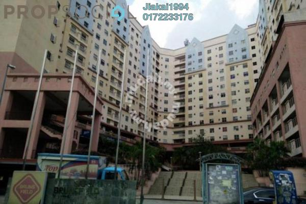 For Rent Apartment at Brunsfield Riverview, Shah Alam Leasehold Semi Furnished 3R/2B 1.1k