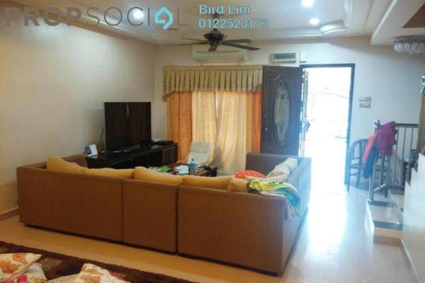 For Sale Terrace at Taman Puncak Jalil, Bandar Putra Permai Leasehold Semi Furnished 4R/3B 529k