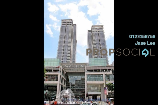 For Rent Condominium at Pavilion Residences, Bukit Bintang Leasehold Semi Furnished 3R/4B 8.2k