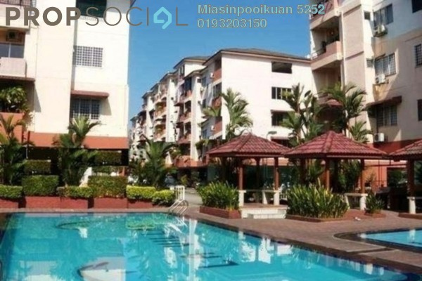 For Rent Condominium at La Villas Condominium, Setapak Freehold Fully Furnished 0R/0B 1.5k